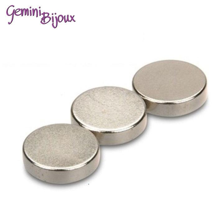Calamita magnete al neodimio mm. 10x2