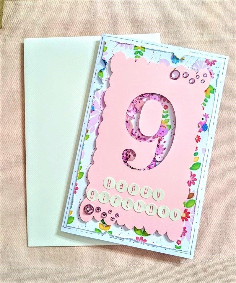 Biglietto Compleanno Girl