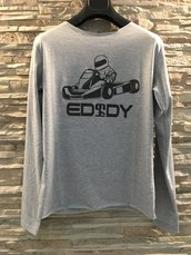 T-shirt long sleeve  Modello Go-kart