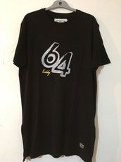 T- shirt long-fit modello 64