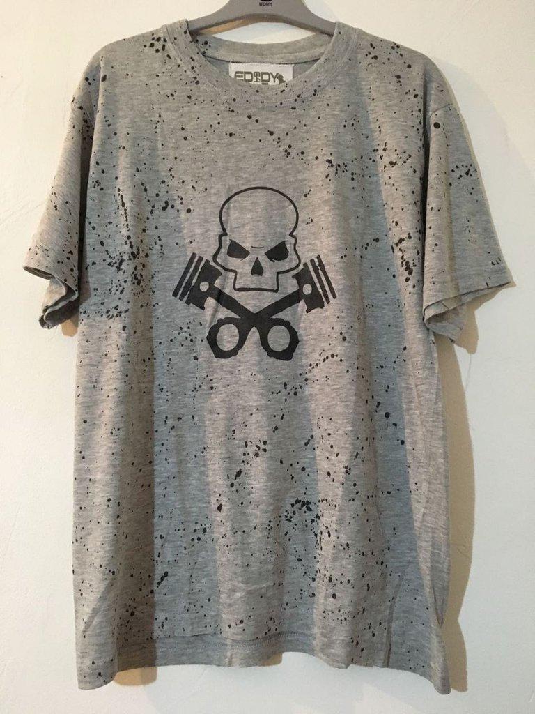 T-Shirt modello Piston Skull