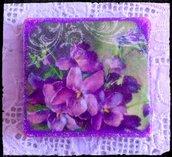 Magnete con Fiori di Primavera