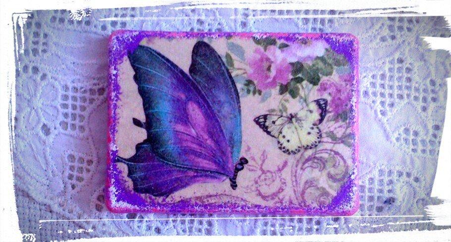 Magnete con Farfalla a Primavera
