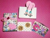 Idea Regalo - Kit Regalo Completo! - Orecchini MiniBox e MiniBigliettino - Lovely^^