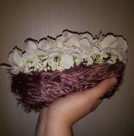 borsette con fiori