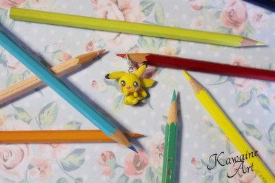 Charm Miniatura Pokemon Pikachu