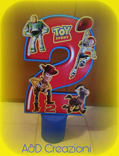CENTROTAVOLA COMPLEANNO TOY STORY
