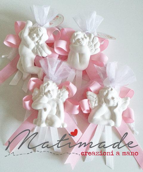 Angeli in polvere ceramica