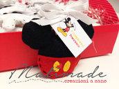 Mickey mouse in feltro