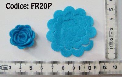 Fustellati Pannolenci Fiori 3D FR20P