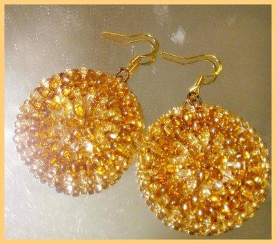 """"""" Round """" earrings"""