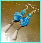 """ Blue "" earrings"