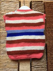 Gilet di lana bimbo