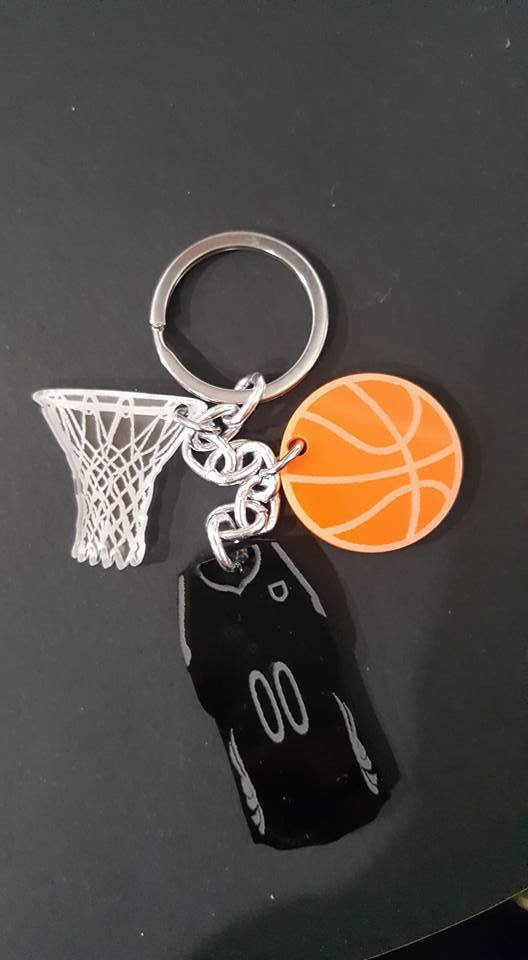 3..2..1.. canestroo ! - portachiavi basket