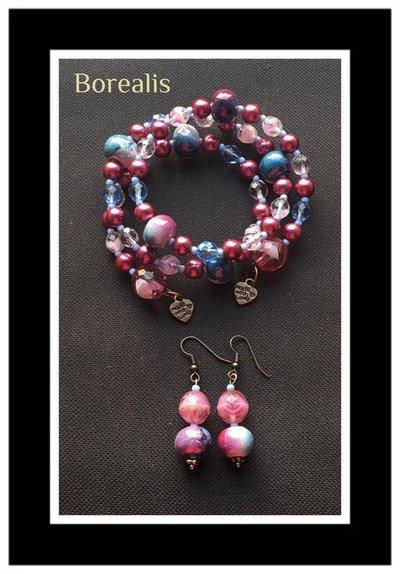 Parure Ceramica e Perle di Boemia