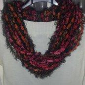 Sciarpa collana  scaldacollo handmade scarf