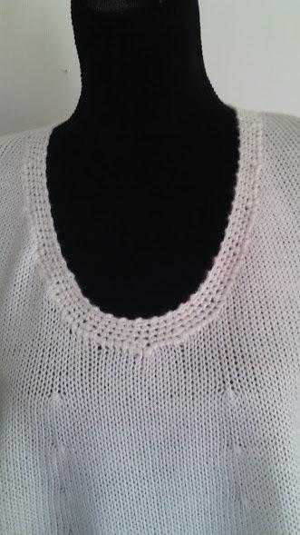maglia donna misto lana bianca