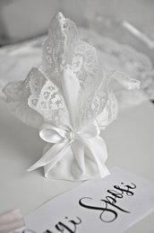 bomboniera matrimonio a fazzoletto