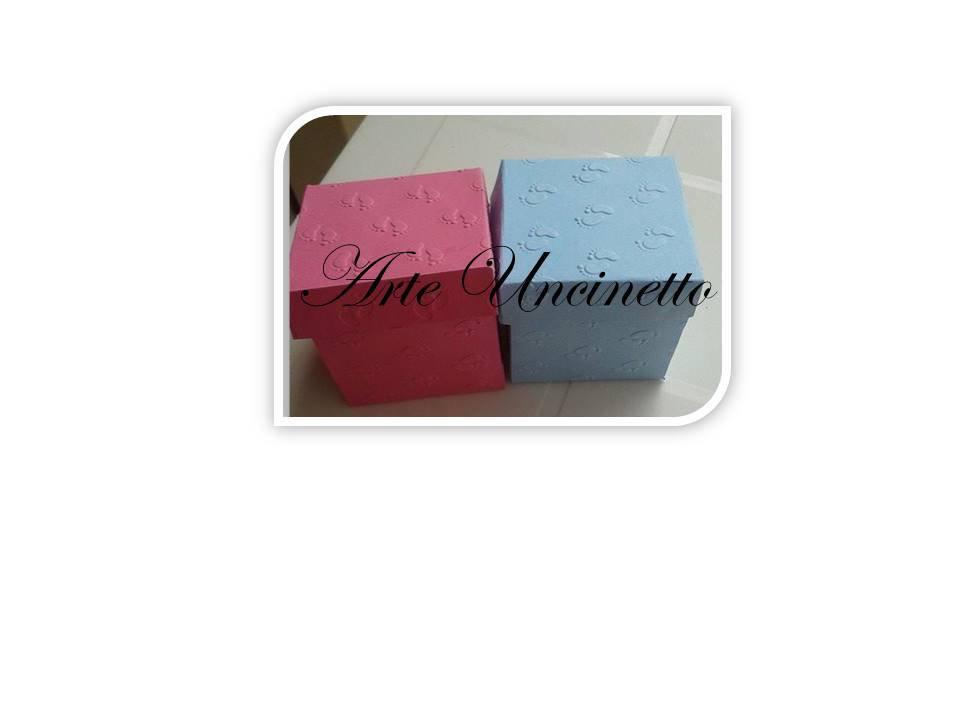 scatolina porta confetti nascita LOTTO 50 PEZZI