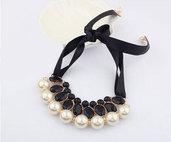 Luxury black perls