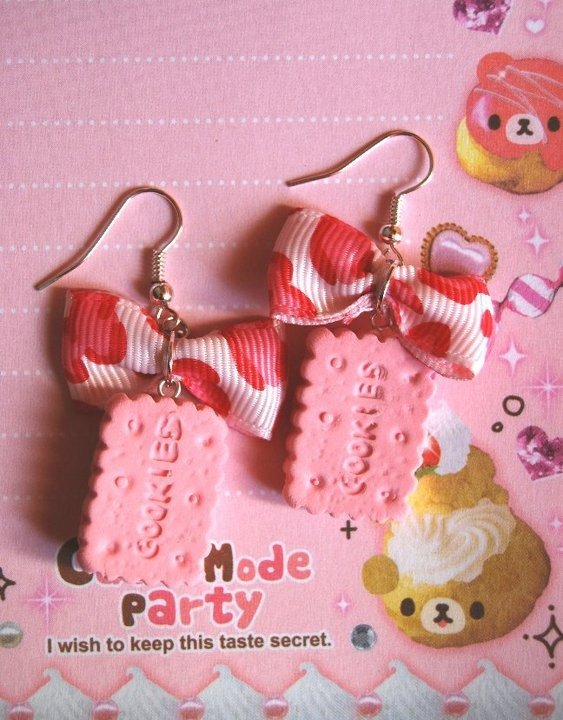 Orecchini Pink Cookie