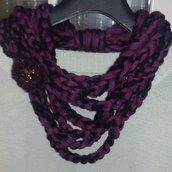 Sciarpa collana  scaldacollo handmade  regalo donna