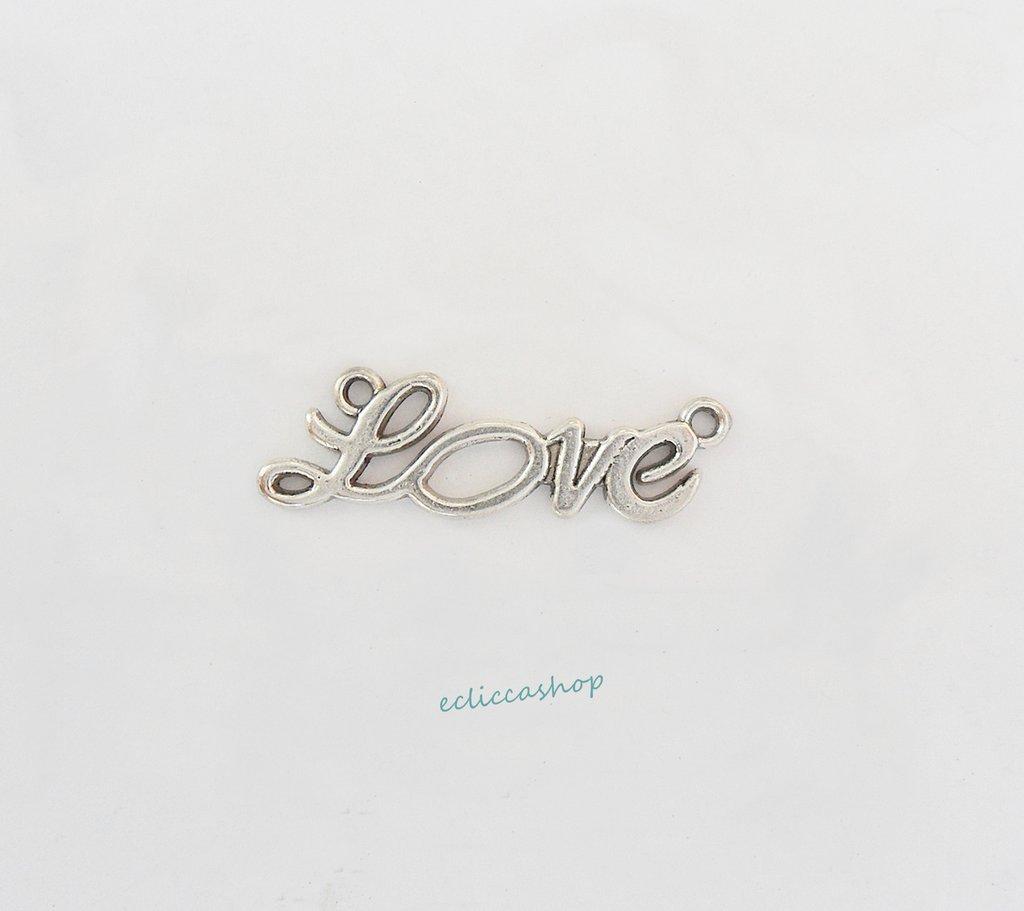 LOVE, CHARMS CONNETTORE PENDENTE 1 PZ