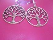 orecchini semplici a forma di albero