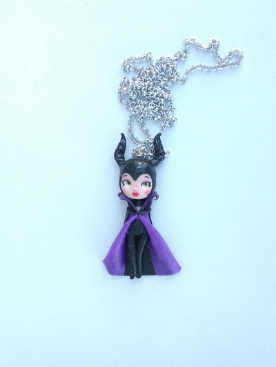 collana con catenina Maleficent
