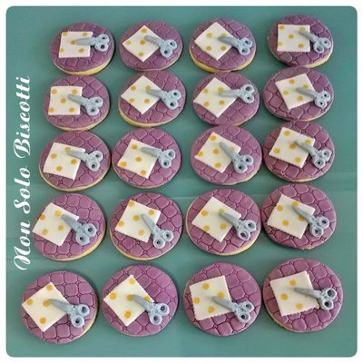 Biscotti tema Scrap Booking