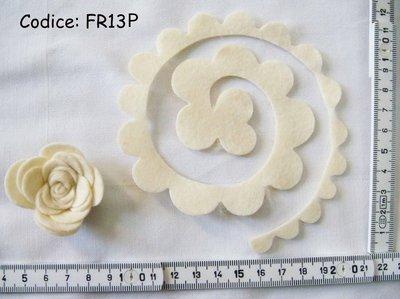 Fustellati Pannolenci Fiori 3D FR13P