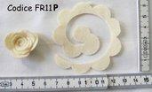 Fustellati Pannolenci Fiori 3D  FR11P