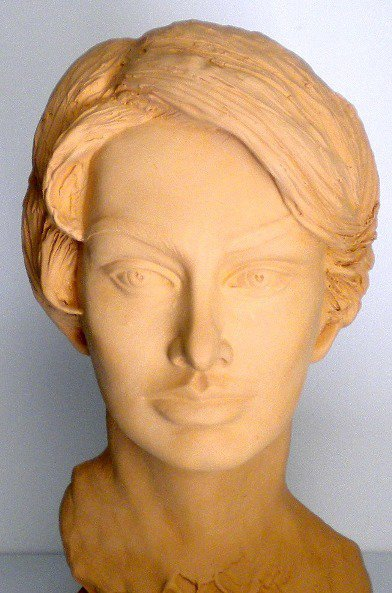 Sophia Loren scultura h. 40 cm. ca.pezzo unico