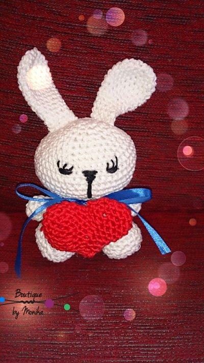 Coniglietto amigurumi fatto ad uncinetto - Bambini ...