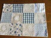 Coppia tovagliette americane patchwork