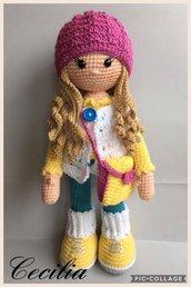 Bambola Molly con accessori