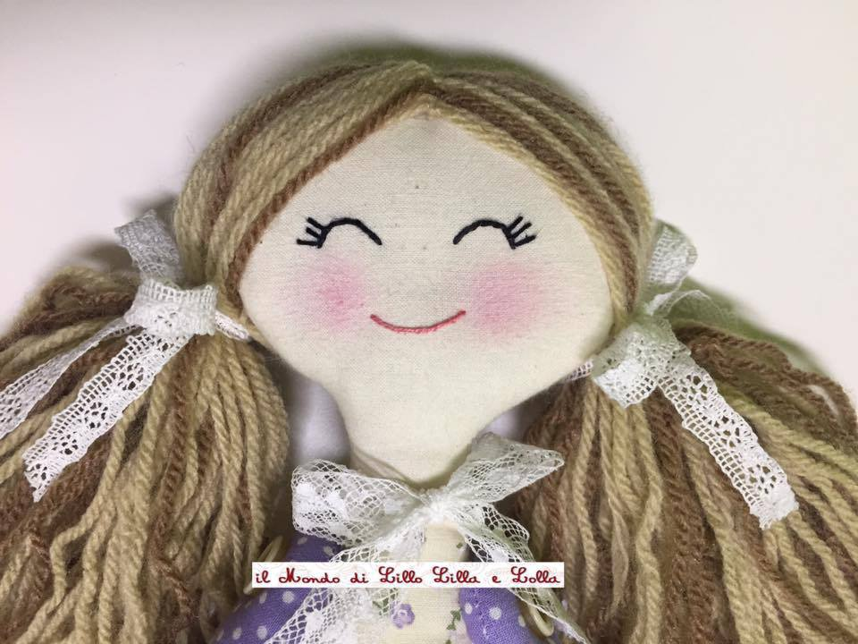 fiocco nascita bambola