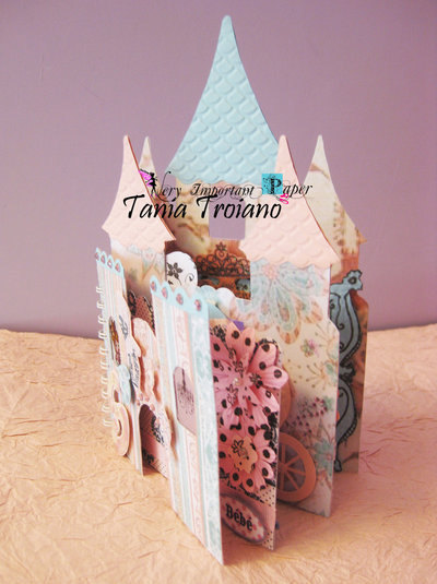 Mini album castello