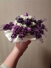 bouquet di perline fatto a mano
