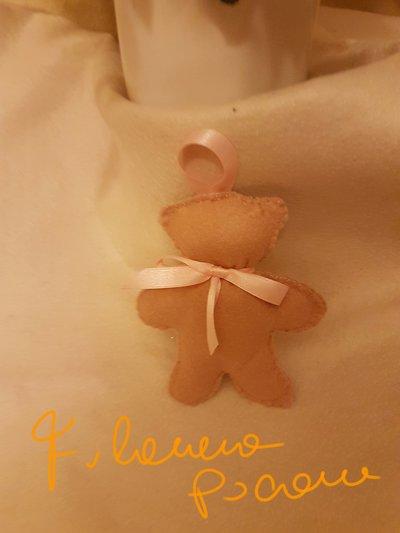 Orsetto piccolo color biscotto