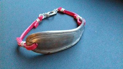 Braccialetto con forchetta in argento