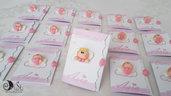 Card Art Invito battesimo angioletto per bimba misura 7x15