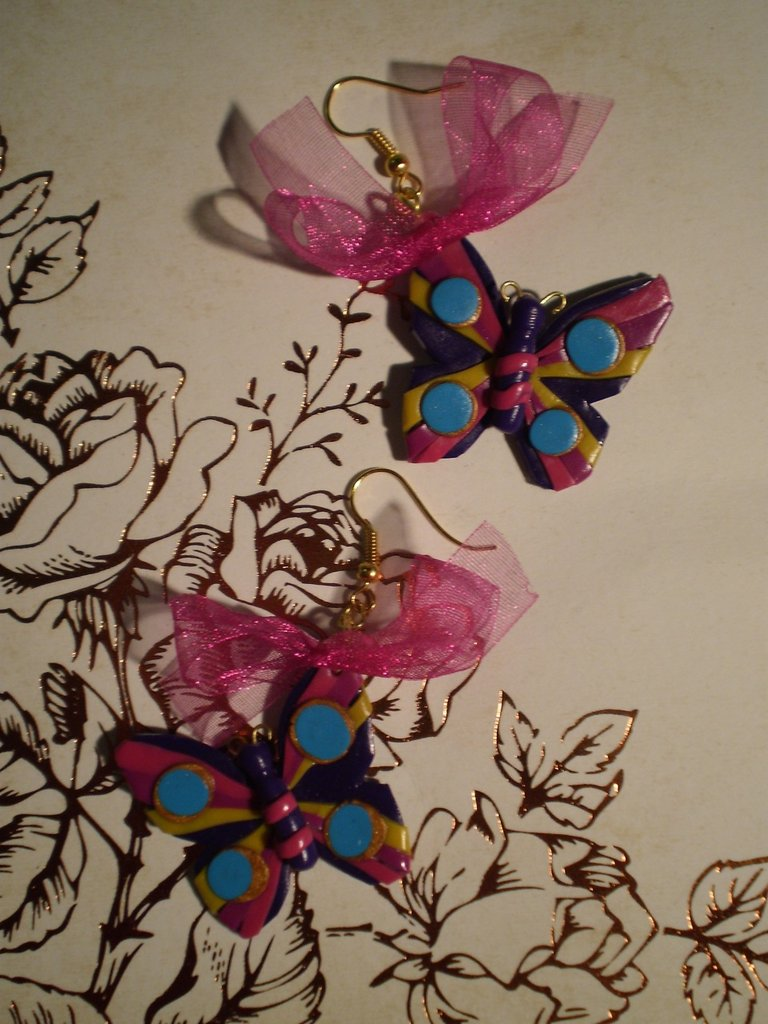 Orecchini Butterfly - Rainbow