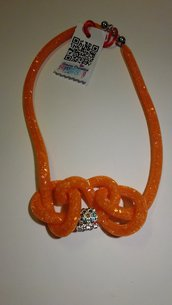 Collana ORANGE rete cm.90