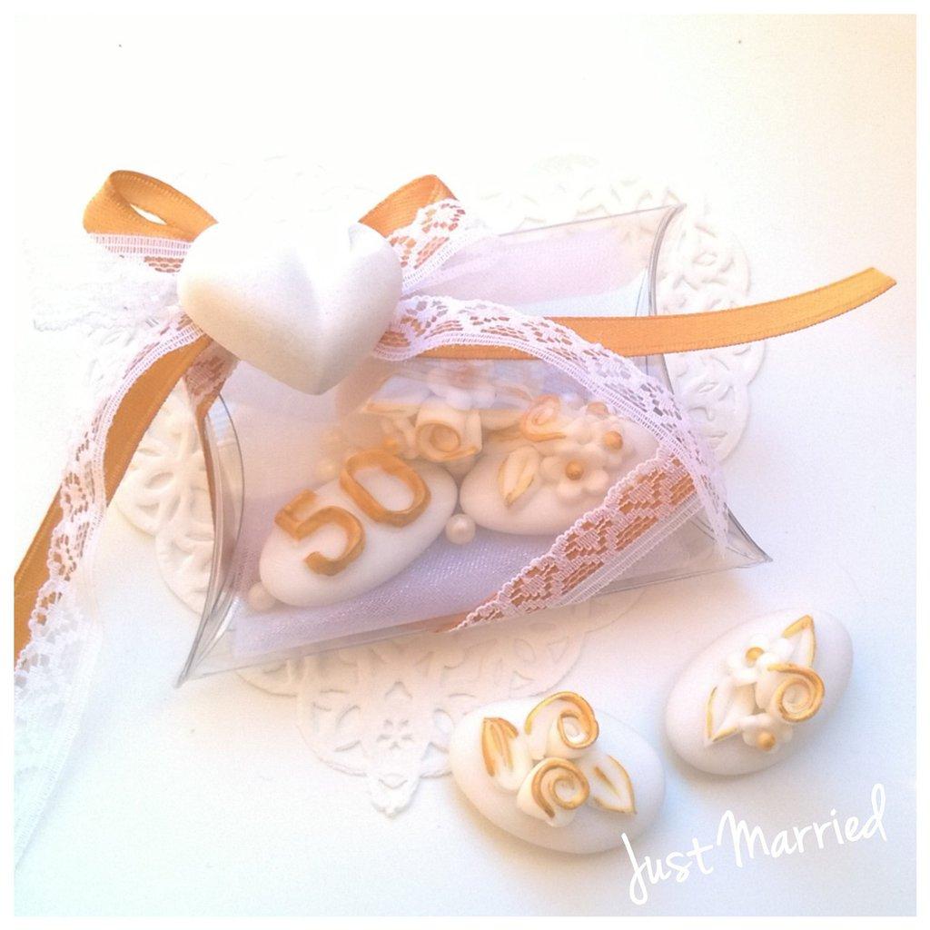 Anniversario Matrimonio Confetti.Confettata Cinquantesimo Anniversario Di Matrimonio Confetti
