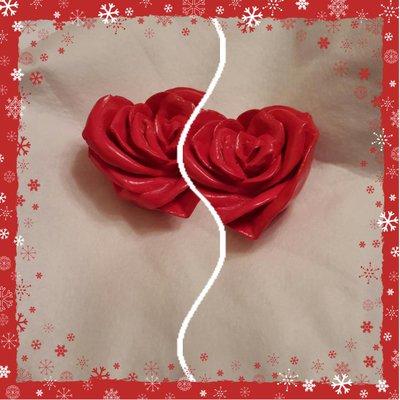 Rosa a forma di cuore