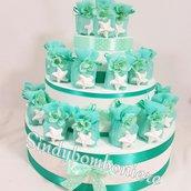 Portaconfetti bomboniere mare gessetti profumati stella marina cresima comunione matrimonio