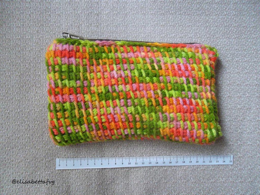 "Mini-bag COLORS ""RED-GREEN"""