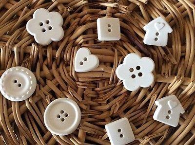 Gessetti bottoni forme varie