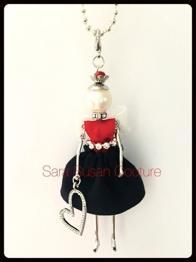 Collana con bambolina – My Little Doll by Sara Susan Couture – Modello Tommy H.Girl